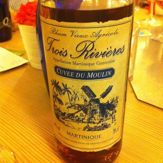 Trois Riviéres Cuvee du Moulin Rhum Vieux Agricole NV