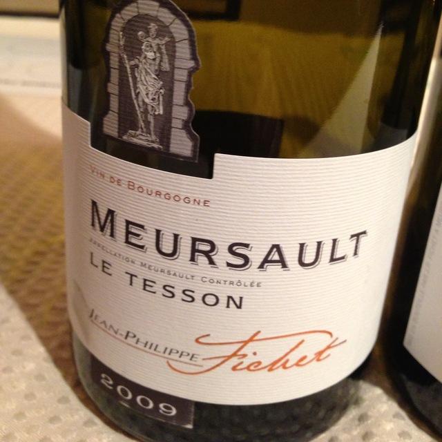 Le Tesson Meursault Chardonnay 2014