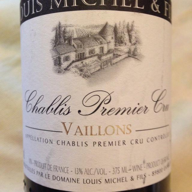 Vaillons Chablis 1er Cru Chardonnay 2014
