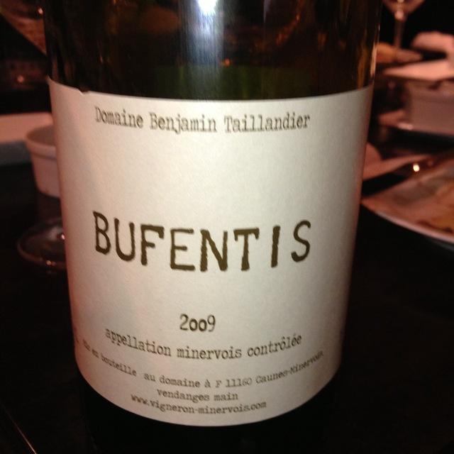 Bufentis Minervois Red Blend 2014