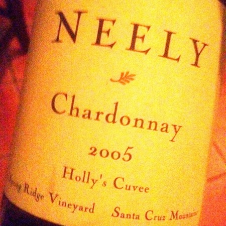Neely Spring Ridge Vineyard Holly's Cuvee Chardonnay 2014
