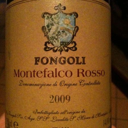 Fongoli Montefalco Rosso Sangiovese Blend 2015