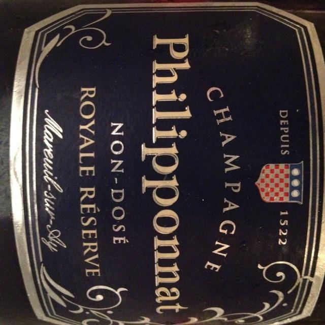 Philipponnat Royale Réserve Non-Dosé Champagne Blend NV