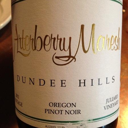 Arterberry Maresh Juliard Pinot Noir 2014