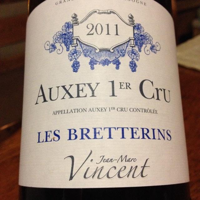 Les Bretterins Auxey 1er Cru Pinot Noir 2007