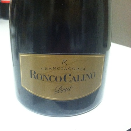 Ronco Calino Brut Franciacorta Chardonnay Blend NV