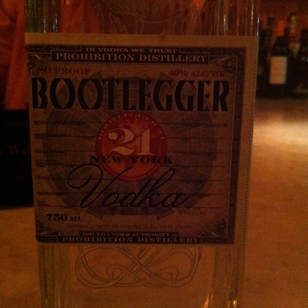 Prohibition Distillery Bootlegger Vodka NV