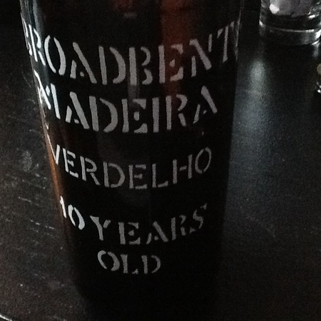 Broadbent 10 Years Old Madeira Verdelho NV
