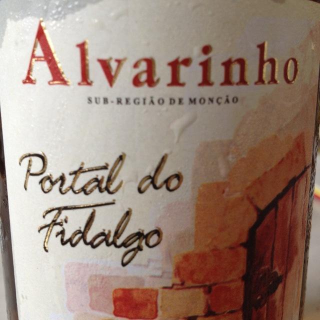 Portal do Fidalgo Vinho Verde Alvarinho 2015