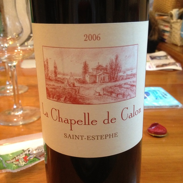 Chapelle de Calon Saint - Estèphe Red Bordeaux Blend 2006