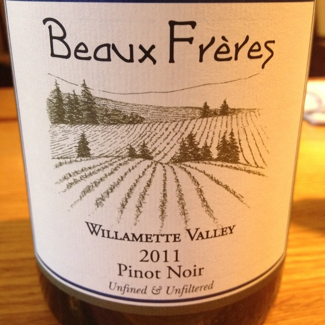 Beaux Frères Willamette Valley Pinot Noir 2015