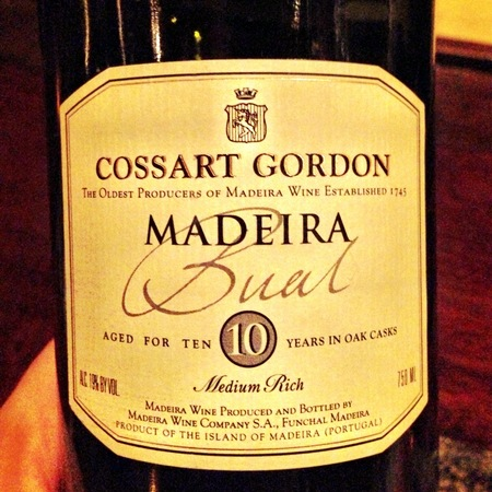 Cossart Gordon & Co. 10 Years Old Madeira Bual Medium Rich NV
