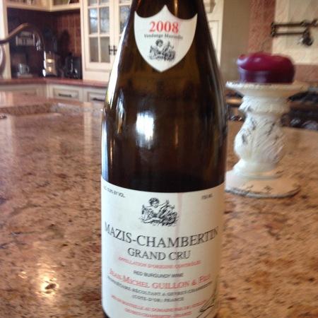 Jean-Michel Guillon Mazis-Chambertin Grand Cru Pinot Noir 2013 (750ml 6bottle)