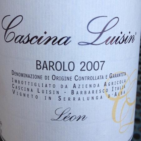 Cascina Luisin Léon Barolo Nebbiolo 2010