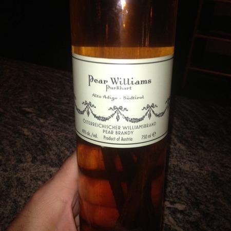 Destillerie Purkhart Pear Williams Osterreichischer Williamsbrand Pear Brandy 375 (375ml)