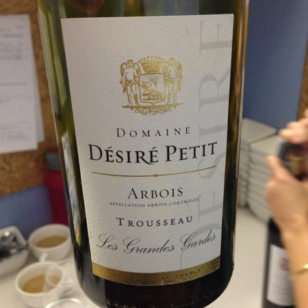 Desire Petit et Fils Les Grands Gardes Arbois Trousseau 2014