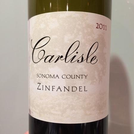 Carlisle Winery & Vineyards Sonoma County Zinfandel 2011