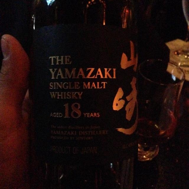 The Yamazaki 18 Year Old Single Malt  Whisky NV