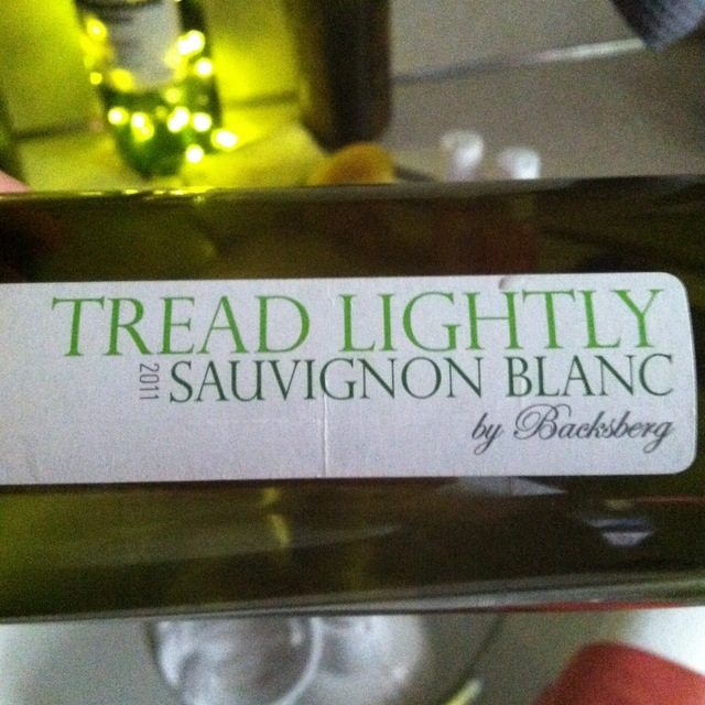 Backsberg Estate Cellars Tread Lightly Sauvignon Blanc 2016 (1000ml)