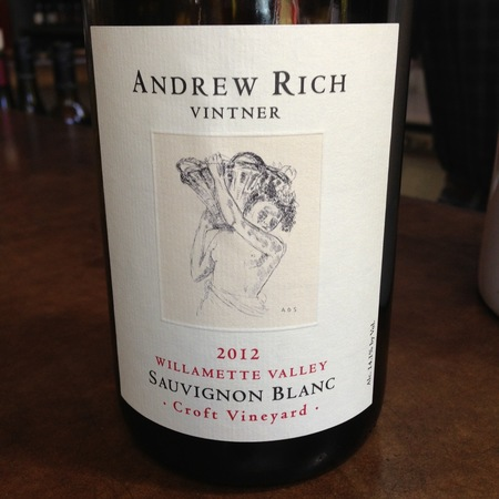Andrew Rich Croft Vineyard Sauvignon Blanc 2016