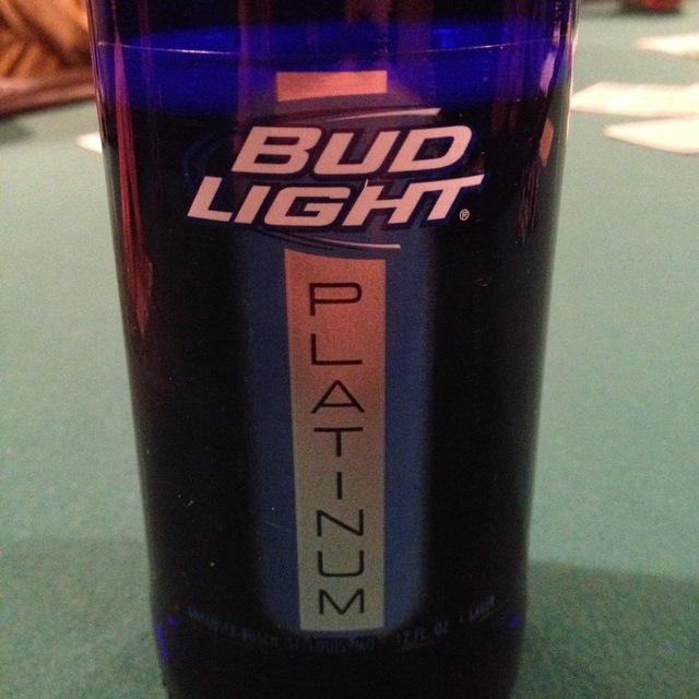 Bud Light Platinum Lager NV