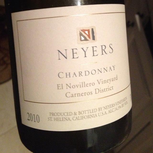 El Novillero Vineyard Chardonnay 2008