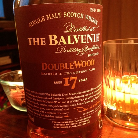 The Balvenie Distillery DoubleWood 17 Years Single Malt Scotch Whisky NV