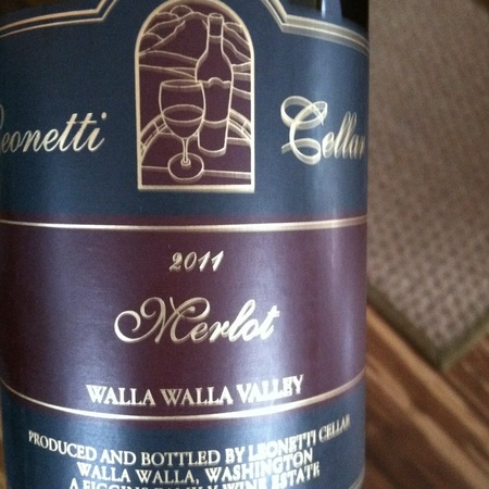 Leonetti Cellar Walla Walla Valley Merlot 2014