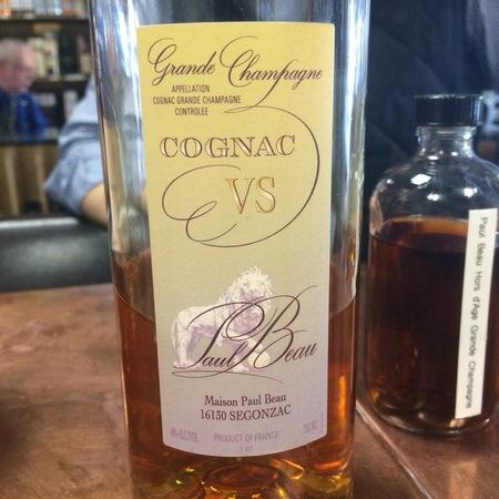 Paul Beau VS Cognac Grande Champagne NV