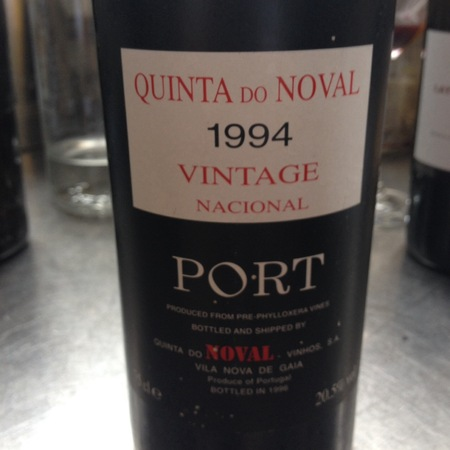 Quinta do Noval Vintage Port Nacional  1994