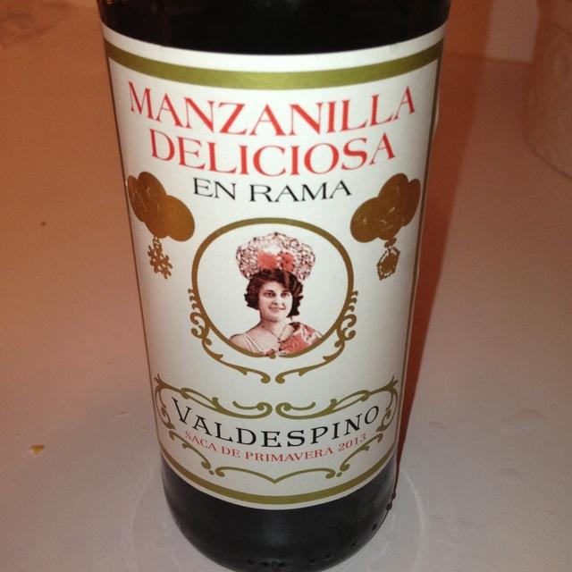 Valdespino Manzanilla Deliciosa En Rama Saca de Primavera Palomino Fino NV (375ml)