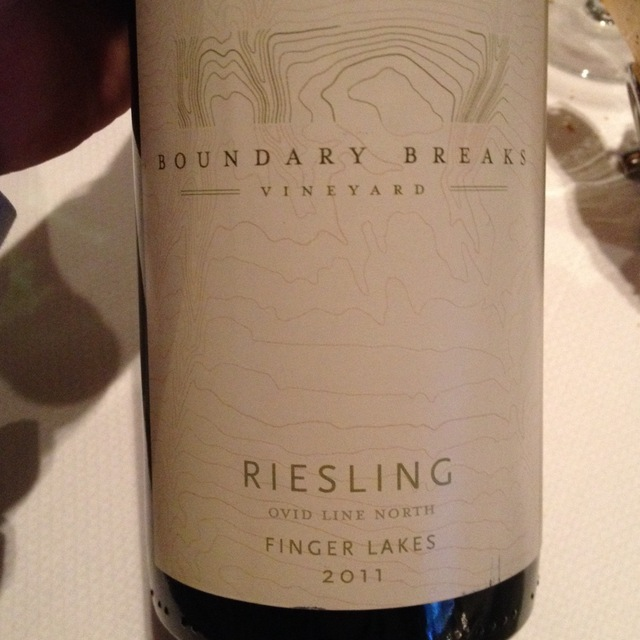 Reserve No. 198 Finger Lakes Riesling 2011