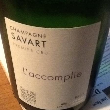 Savart L'Accomplie Brut 1er Cru Pinot Noir Chardonnay NV