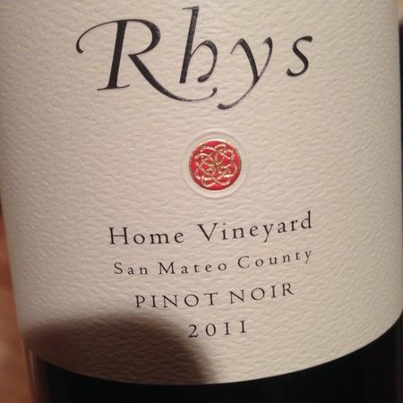 Rhys Vineyards Home Vineyard Pinot Noir 2011