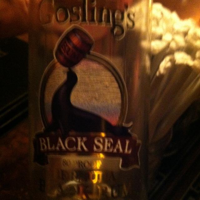 Black Seal Bermuda Black Rum NV