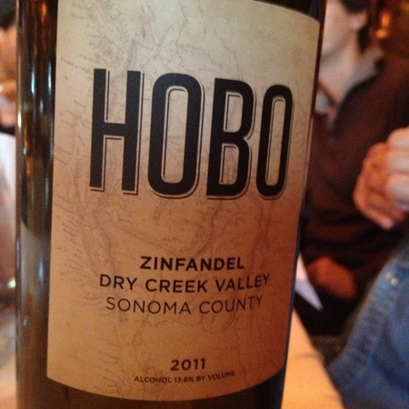 Hobo Wine Company Dry Creek Valley Zinfandel 2014