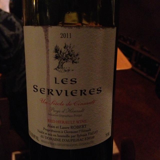 Domaine Robert Les Servières Vin de Pays de l'Hérault Cinsault 2014