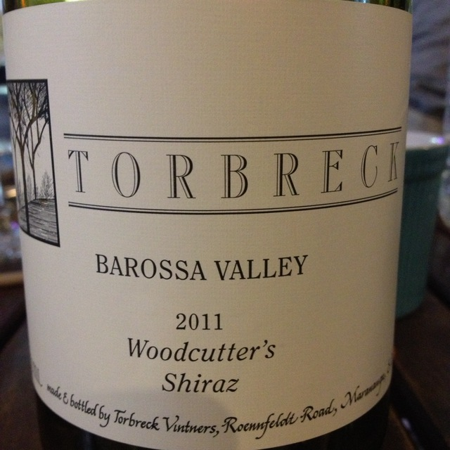 Torbreck Vintners Woodcutter's Barossa Valley Shiraz 2015 (750ml 12bottle)