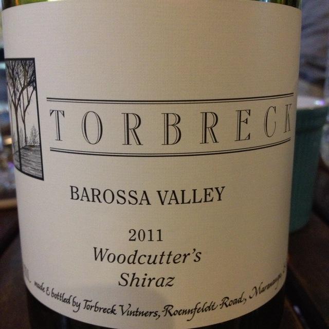 Torbreck Vintners Woodcutter's Barossa Valley Shiraz 2015