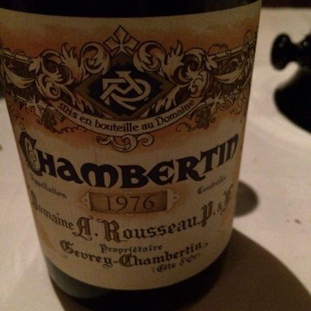 Domaine Armand Rousseau  Ruchottes-Chambertin Grand Cru Pinot Noir 2012