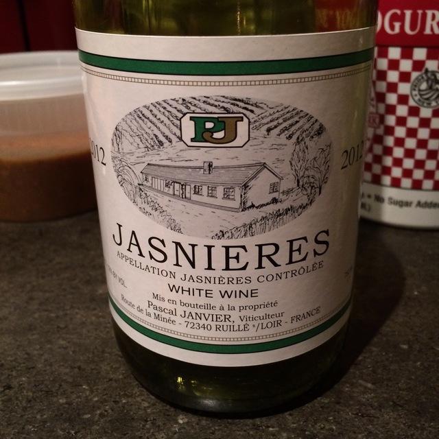 Pascal Janvier Jasnières Chenin Blanc 2016
