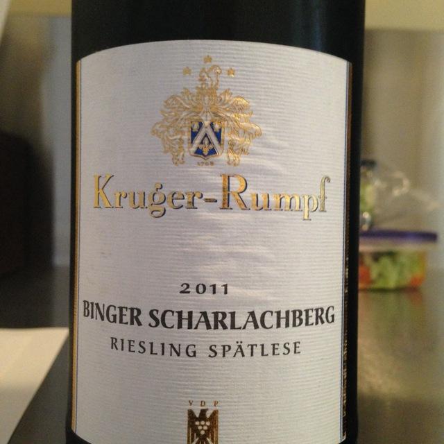 Binger Scharlachberg Spätlese Riesling 2008