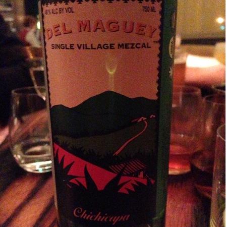 Del Maguey Single Village Chichicapa Mezcal NV