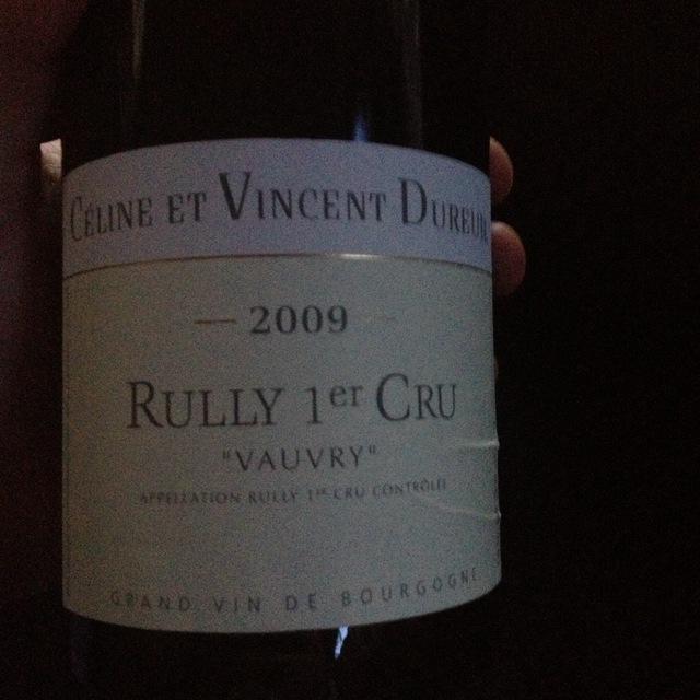 Vauvry Rully 1er Cru Pinot Noir 2013