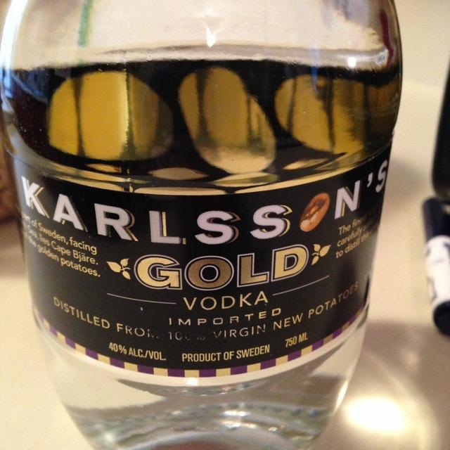 Karlsson's Gold Vodka NV