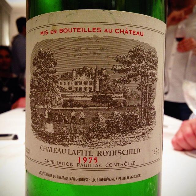 Château Lafite Rothschild Pauillac Red Bordeaux Blend 1975
