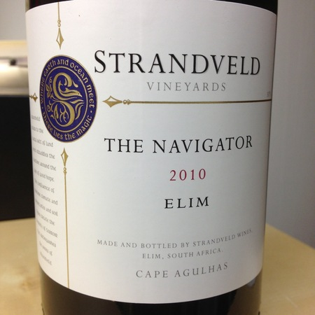 Strandveld Vineyards The Navigator Shiraz Blend 2012