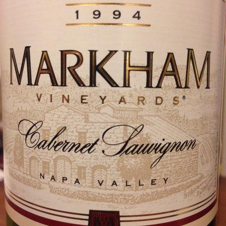 Markham Vineyards Napa Valley Cabernet Sauvignon 1994