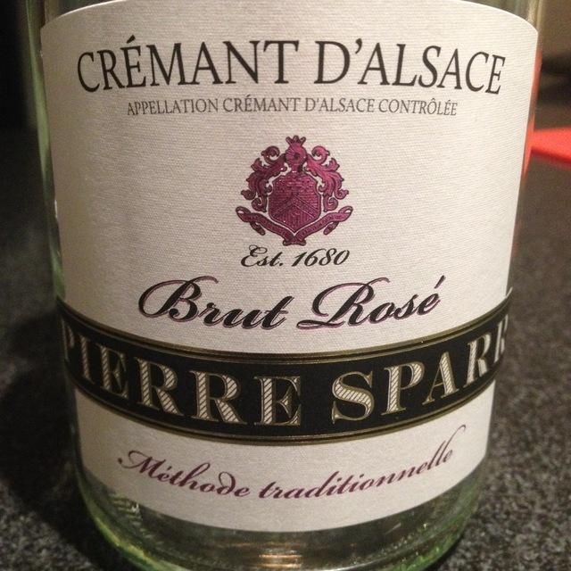 Rosé Brut Crémant d'Alsace Pinot Noir NV