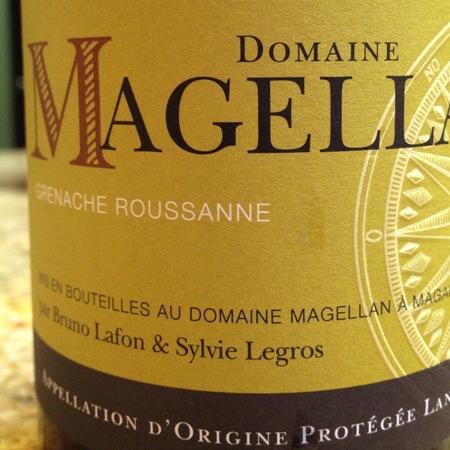 Domaine Magellan Vin de Pays de l'Hérault Grenache Blanc Roussanne 2016